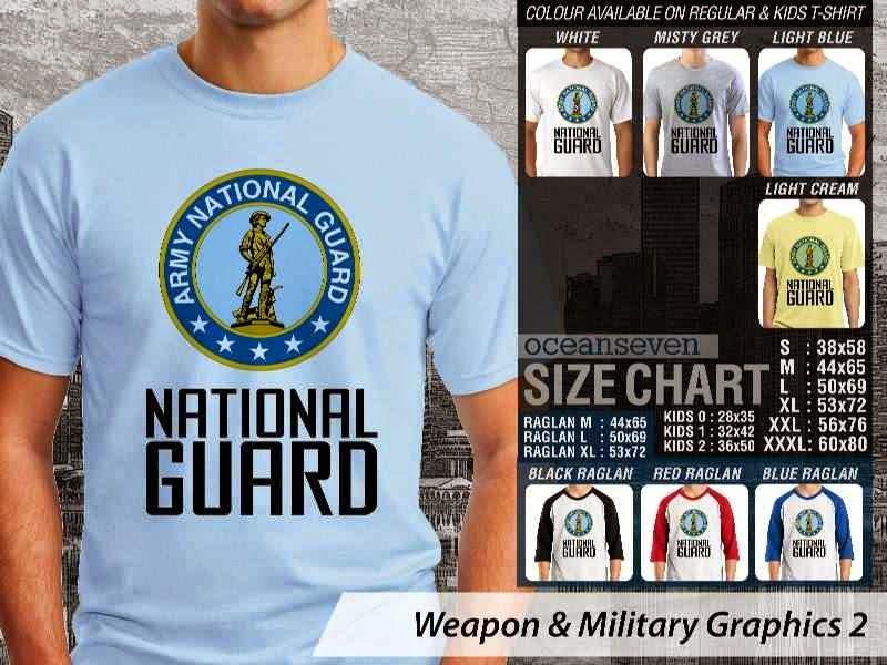 KAOS Militer National Guard Weapon & Military Graphics 2 distro ocean seven