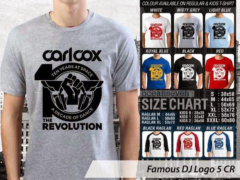 KAOS Musik DJ 16 Carlcox 10 The Revolution distro ocean seven
