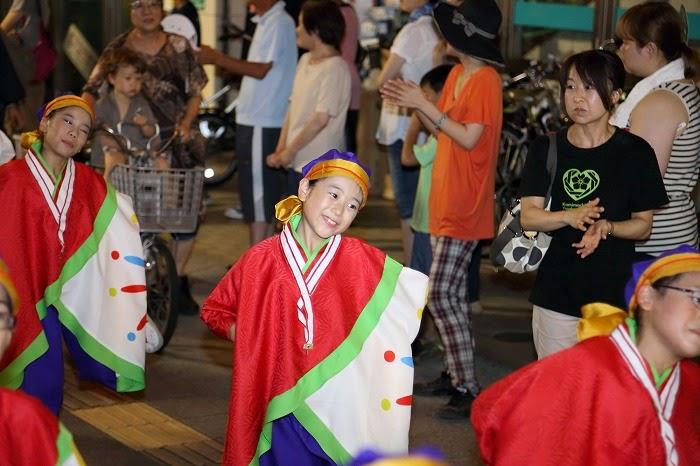 第60回よさこい祭り☆本祭2日目・上町競演場60☆上2目2870