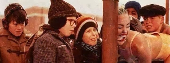 I don't remember that scene in Christmas Story...