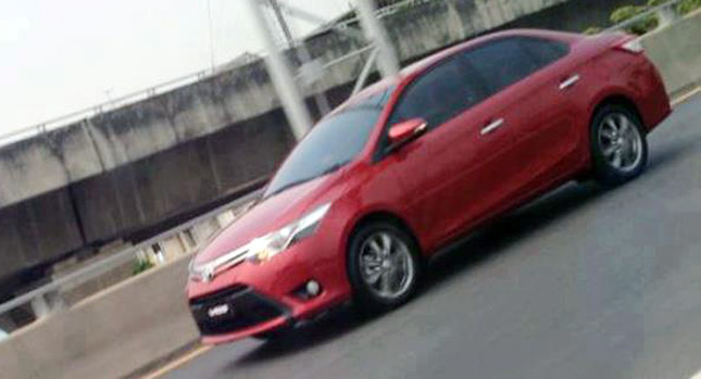 New 2014 Toyota Corolla Sedan Spotted on the Road in Asia [Update: Or