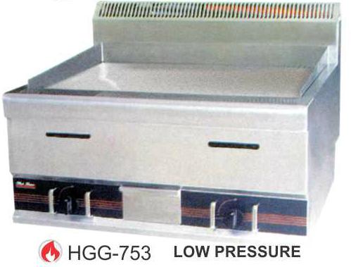 Alat Panggang Datar Gas (Gas Flat Griddle) : HGG-753