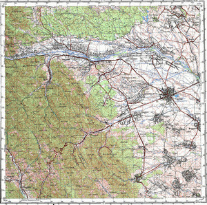 Map 100k--l35-004--(1971)