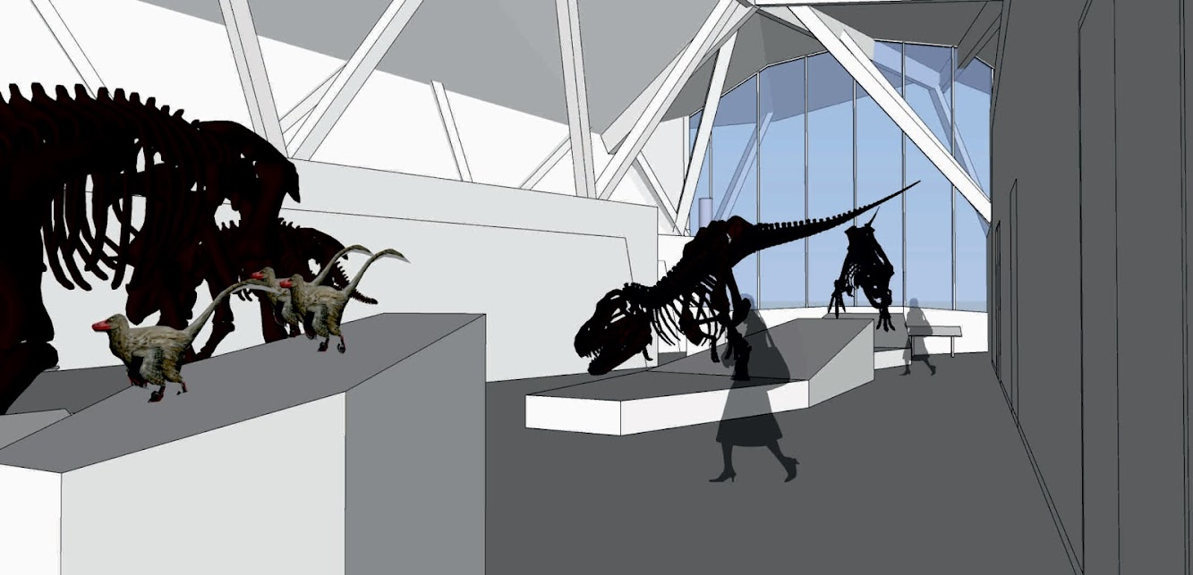 Philip J Currie Dinosaur Museum by Teeple Architects