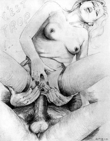 рисованоэ порно карандашом фото