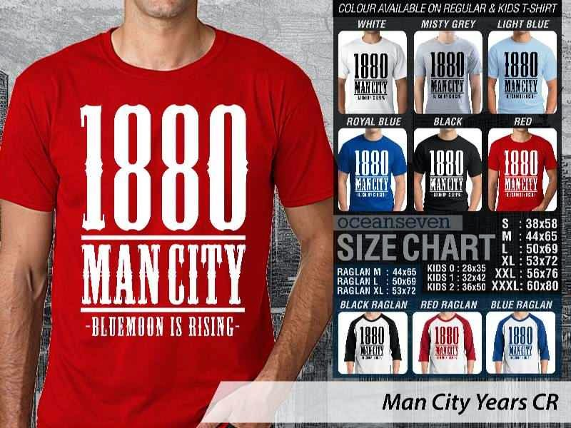 KAOS Man City Manchester City 16 Liga Premier Inggris distro ocean seven