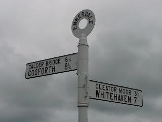 Ennerdale signpost