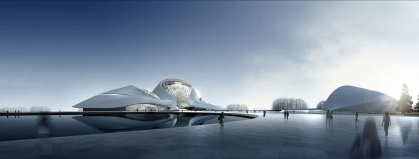 Harbin, Heilongjiang, Cina: Cultural Center of Harbin by Mad