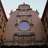 The Entrance to the Basilica - Montserrat, Spain