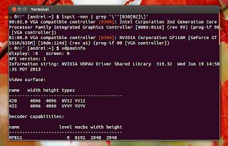 Nvidia Optimus VDPAU Ubuntu
