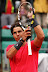 PARIS, FRANCE - JUNE 04:  Rafael Nadal of Spain celebrates victory in his men's singles fourth round match against Juan Monaco of Argentina during day 9 of the French Open at Roland Garros on June 4, 2012 in Paris, France.  (Photo by Matthew Stockman/Getty Images)