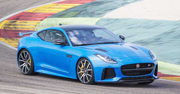 2017 Jaguar F-Type SVR is Sports Cars 567-hp