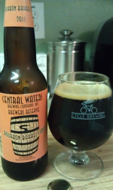 Central Waters Bourbon Barrel Stout