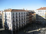 The View From Our Room - Madrid, Spain