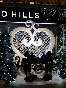 表参道ヒルズのクリスマスイルミネーション2012