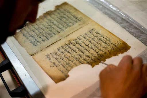 More Stuff: Old manuscripts get facelift at Jerusalem mosque