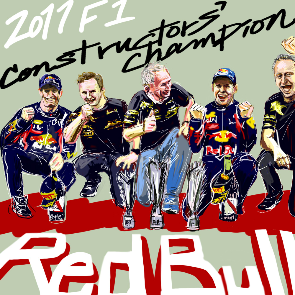 Red Bull 2011 F1 Constructors Champions