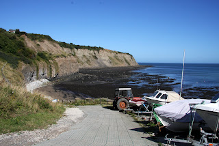 Slipway at Robin Hoods Bay