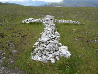 Another cross on Blencathra
