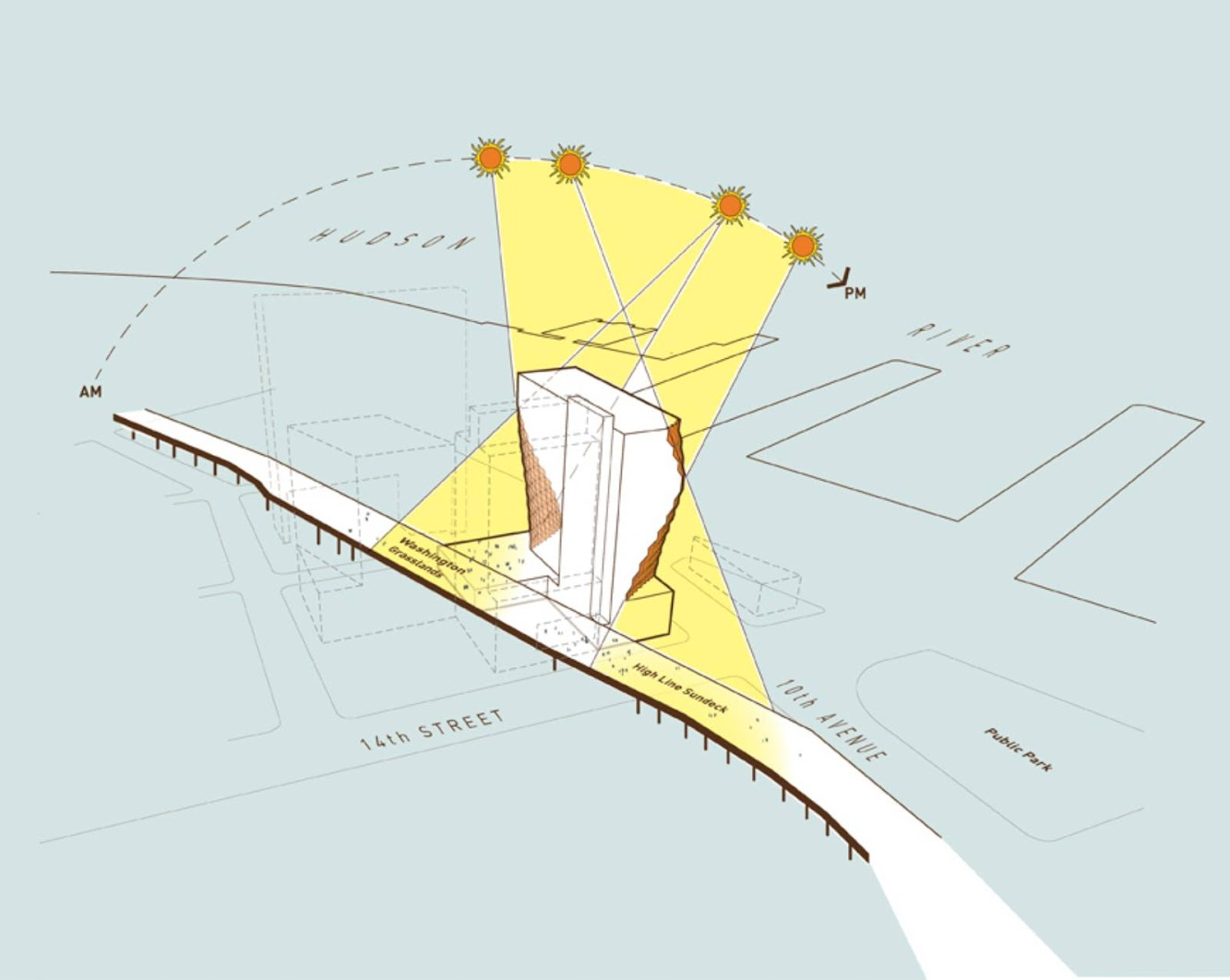 Solar Carve Tower by Studio Gang Architects