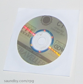 The new Classic Traveller CD.