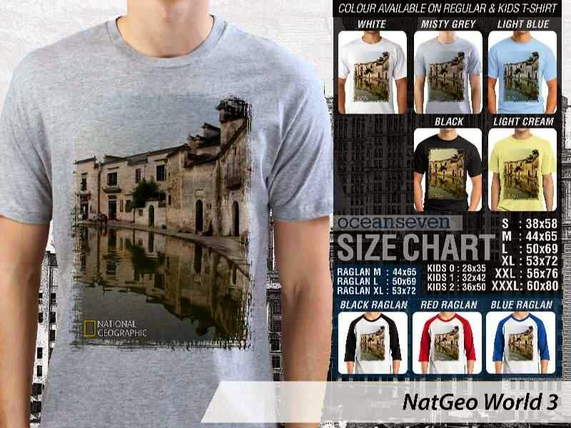 Kaos National Geographic NatGeo World 3 distro ocean seven