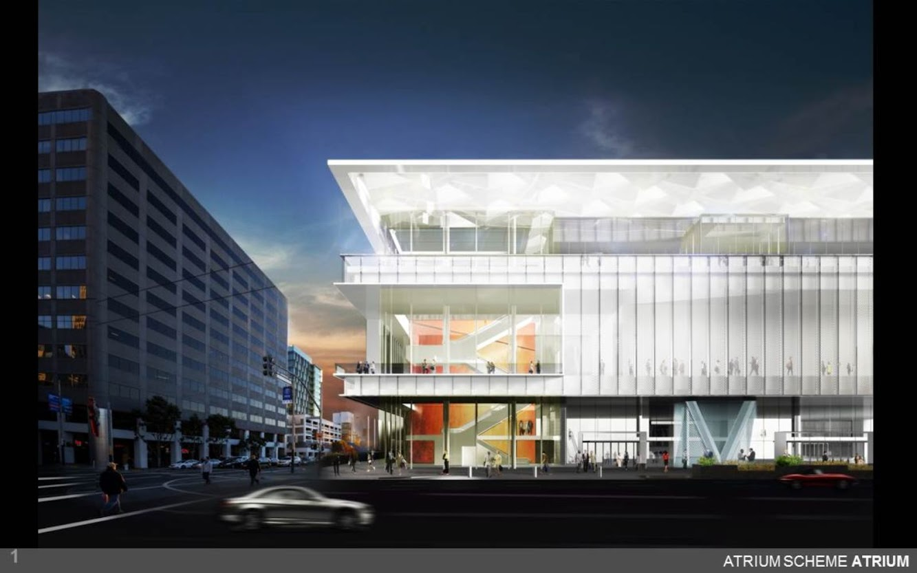 Moscone Center Expansion by Skidmore Owings Merrill