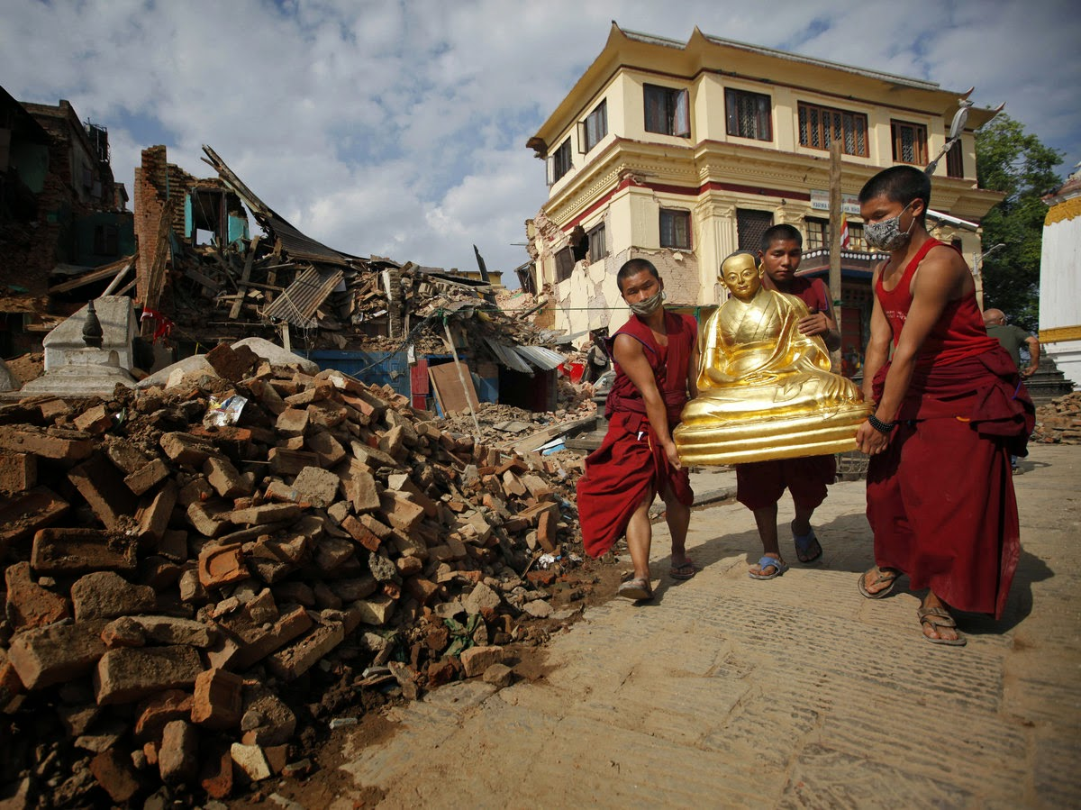 In Nepal, efforts underway to salvage ancient sites damaged by quake