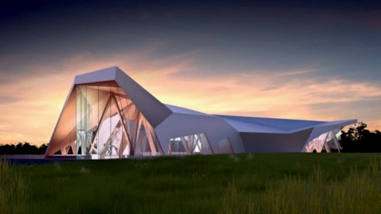 9604-9620 101 Ave, Wembley, Alberta T0H 3S0, Canada: Philip J Currie Dinosaur Museum by Teeple Architects