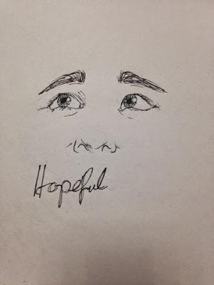 97 Hearts hopeful drawing