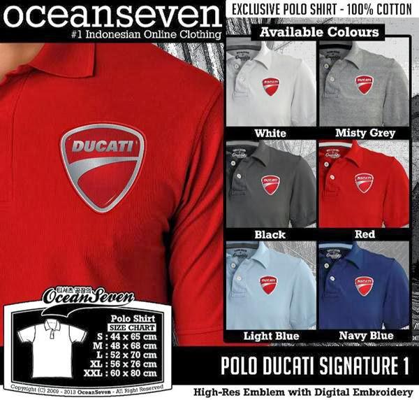 POLO Ducati Signature distro ocean seven