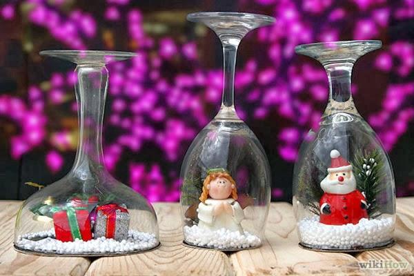 Подарки из бокалов своими руками