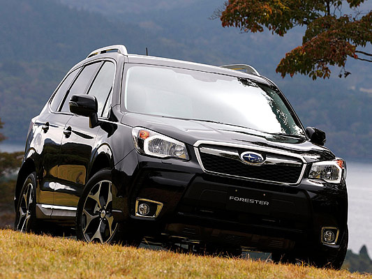 Japanese car photos 2014 Subaru Forester