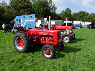 Loweswater Show - A nice red tractor