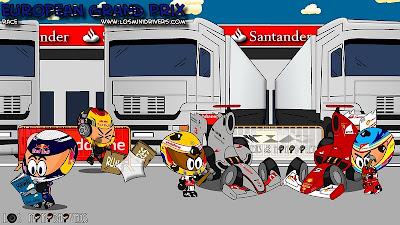 Los MiniDrivers по Гран-при Европы 2011