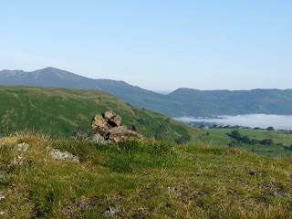 Grisedale Pike in the distance from High Rigg (Birkett Top).