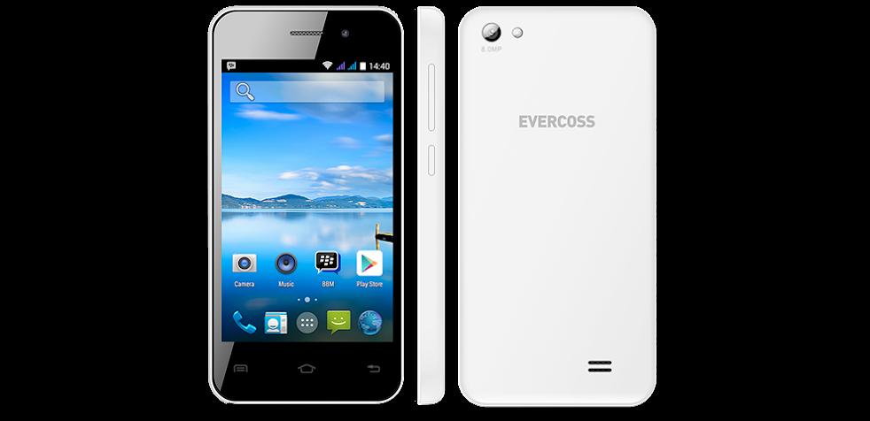 Evercoss A7E - Spesifikasi Lengkap dan Harga