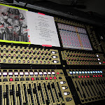 Chriiis his inspiration taped to the console