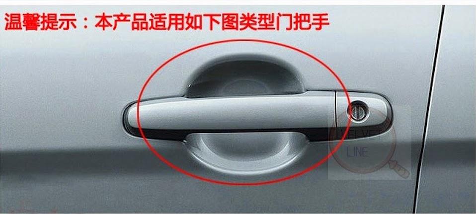 Как заделать ручки на дверях машины