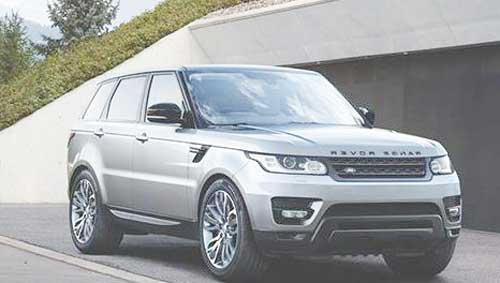 New Line-up 2017 Range Rover with Autonomous Emergency Braking