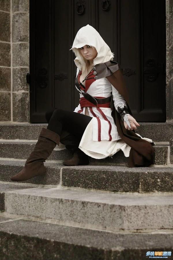 Bộ cosplay tuyệt đẹp về sát thủ Ezio phiên bản nữ - Ảnh 5