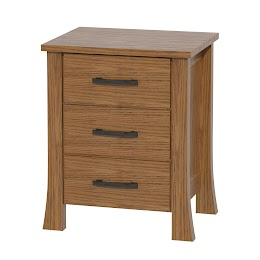 Palermo Nightstand with Drawers