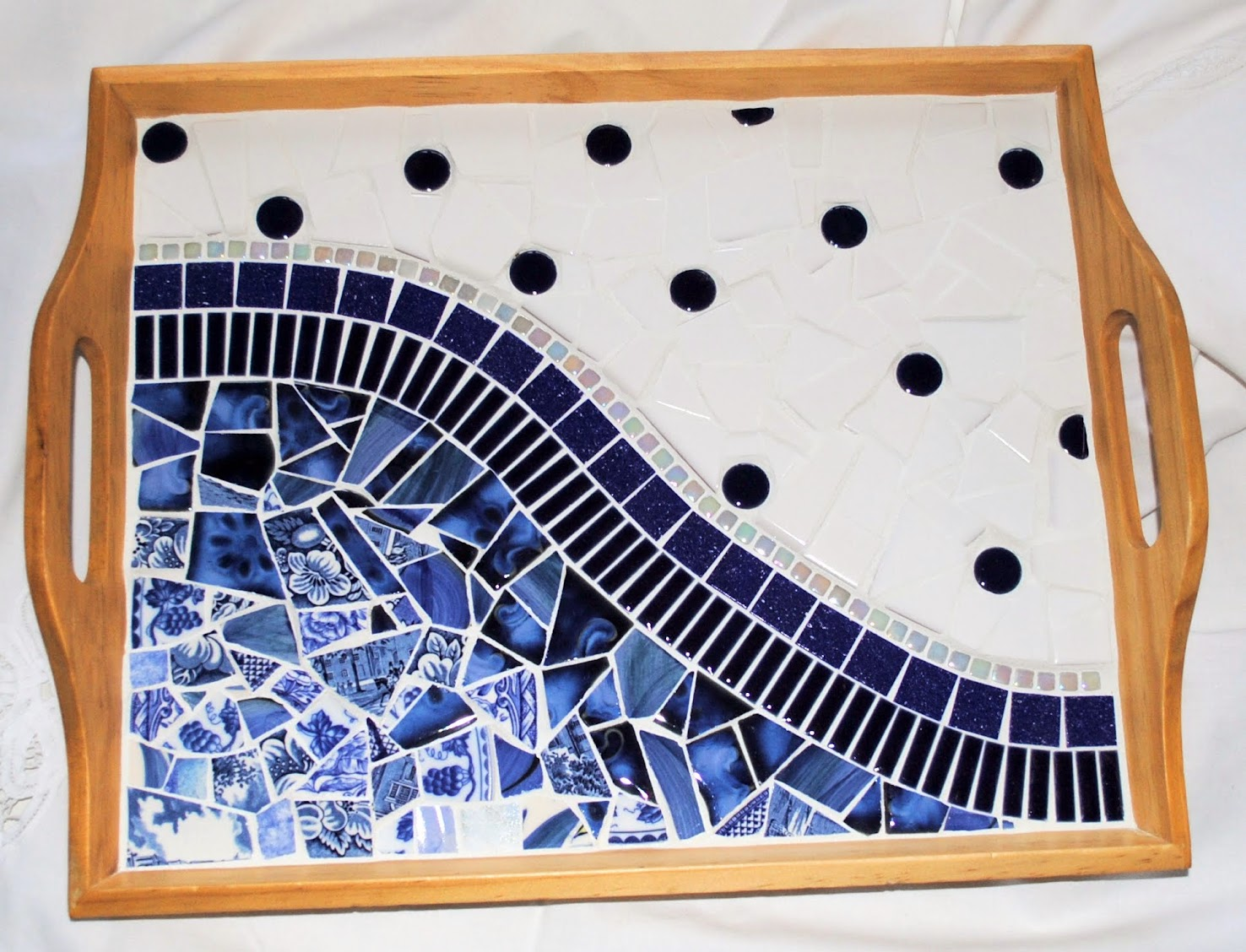 Paris Cafe Mosaic Serving Tray MOT3030