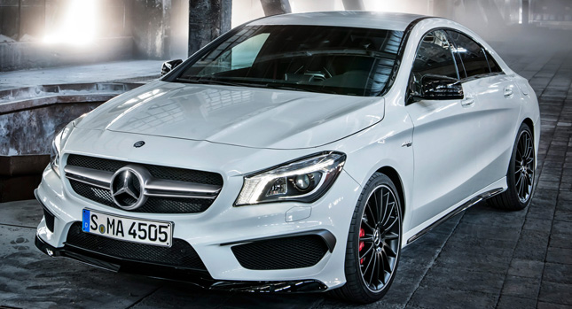 First Photos of New Mercedes-Benz CLA 45 AMG Sports Sedan with 355HP
