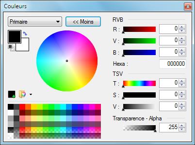 [Paint.net] Guide pour bien débuter  Palette