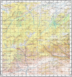 Map 100k--m46-007--(1986)