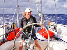 J/42 cruiser- sailing across Atlantic Ocean