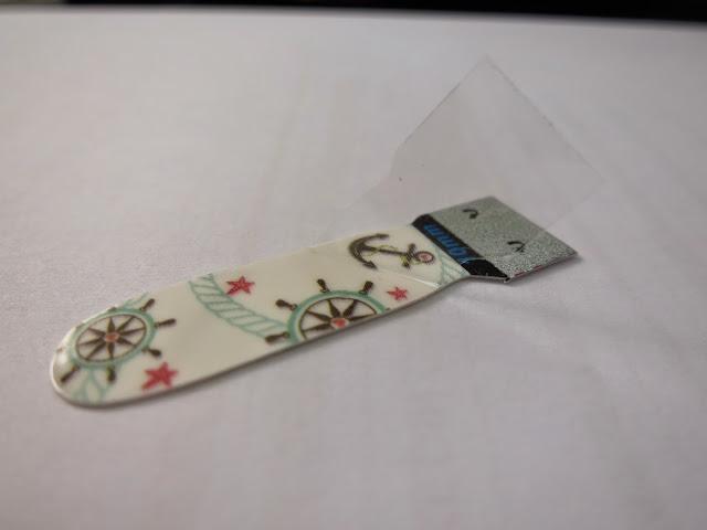 Mint Green Nautical Nail Wrap A1037