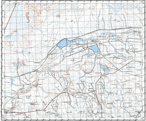 Map 100k--j40-098--(1976)