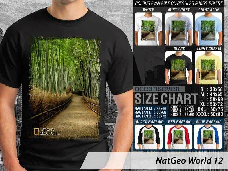 Kaos National Geographic NatGeo World 12 distro ocean seven